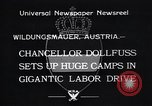 Image of Chancellor Dollfuss Wildungsmauer Austria, 1933, second 5 stock footage video 65675038325