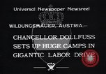Image of Chancellor Dollfuss Wildungsmauer Austria, 1933, second 6 stock footage video 65675038325