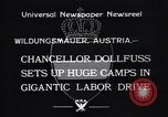 Image of Chancellor Dollfuss Wildungsmauer Austria, 1933, second 7 stock footage video 65675038325