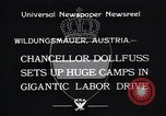 Image of Chancellor Dollfuss Wildungsmauer Austria, 1933, second 8 stock footage video 65675038325