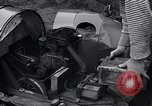 Image of Edward Floyd delivers newspapers in homemade car Seattle Washington USA, 1933, second 6 stock footage video 65675038327