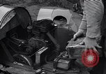 Image of Edward Floyd delivers newspapers in homemade car Seattle Washington USA, 1933, second 9 stock footage video 65675038327