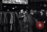 Image of unemployed men receive coats Kansas City Missouri USA, 1933, second 1 stock footage video 65675038328