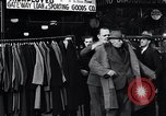 Image of unemployed men receive coats Kansas City Missouri USA, 1933, second 2 stock footage video 65675038328