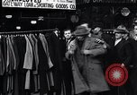 Image of unemployed men receive coats Kansas City Missouri USA, 1933, second 3 stock footage video 65675038328