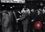 Image of unemployed men receive coats Kansas City Missouri USA, 1933, second 4 stock footage video 65675038328