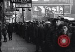 Image of unemployed men receive coats Kansas City Missouri USA, 1933, second 5 stock footage video 65675038328