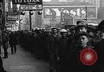 Image of unemployed men receive coats Kansas City Missouri USA, 1933, second 6 stock footage video 65675038328
