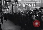 Image of unemployed men receive coats Kansas City Missouri USA, 1933, second 7 stock footage video 65675038328