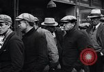 Image of unemployed men receive coats Kansas City Missouri USA, 1933, second 10 stock footage video 65675038328