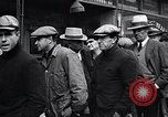 Image of unemployed men receive coats Kansas City Missouri USA, 1933, second 11 stock footage video 65675038328