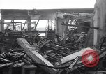 Image of Navy yard wreckage from hydrogen explosion Boston Massachusetts USA, 1934, second 2 stock footage video 65675038338