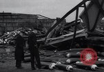 Image of Navy yard wreckage from hydrogen explosion Boston Massachusetts USA, 1934, second 4 stock footage video 65675038338