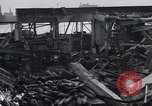 Image of Navy yard wreckage from hydrogen explosion Boston Massachusetts USA, 1934, second 7 stock footage video 65675038338