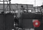 Image of Navy yard wreckage from hydrogen explosion Boston Massachusetts USA, 1934, second 12 stock footage video 65675038338