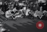Image of hobby horse race Santa Monica California USA, 1934, second 10 stock footage video 65675038344