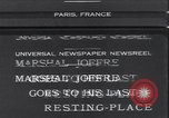 Image of funeral of Marshal Joseph Joffre Paris France, 1931, second 1 stock footage video 65675038346