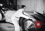Image of Malcolm Campbell and Bluebird motorcar Brooklands England, 1931, second 9 stock footage video 65675038348