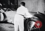 Image of Malcolm Campbell and Bluebird motorcar Brooklands England, 1931, second 10 stock footage video 65675038348