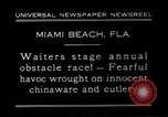 Image of waiters Miami Florida USA, 1931, second 2 stock footage video 65675038353