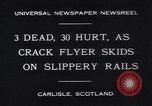 Image of crack flyer Carlisle England, 1931, second 2 stock footage video 65675038354