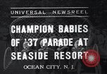Image of annual baby parade Ocean City New Jersey USA, 1937, second 1 stock footage video 65675038357