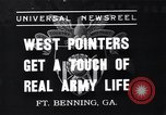 Image of West Pointers Fort Benning Georgia USA, 1937, second 1 stock footage video 65675038358