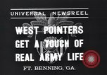 Image of West Pointers Fort Benning Georgia USA, 1937, second 2 stock footage video 65675038358