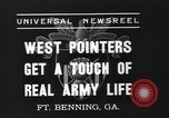 Image of West Pointers Fort Benning Georgia USA, 1937, second 3 stock footage video 65675038358
