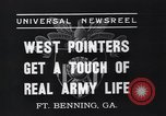 Image of West Pointers Fort Benning Georgia USA, 1937, second 4 stock footage video 65675038358