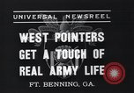 Image of West Pointers Fort Benning Georgia USA, 1937, second 5 stock footage video 65675038358