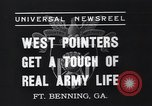 Image of West Pointers Fort Benning Georgia USA, 1937, second 6 stock footage video 65675038358
