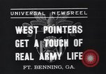 Image of West Pointers Fort Benning Georgia USA, 1937, second 7 stock footage video 65675038358
