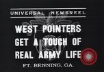 Image of West Pointers Fort Benning Georgia USA, 1937, second 8 stock footage video 65675038358