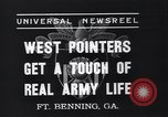 Image of West Pointers Fort Benning Georgia USA, 1937, second 9 stock footage video 65675038358