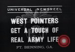 Image of West Pointers Fort Benning Georgia USA, 1937, second 10 stock footage video 65675038358