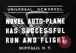 Image of auto plane Buffalo New York USA, 1937, second 2 stock footage video 65675038359