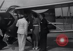 Image of auto plane Buffalo New York USA, 1937, second 12 stock footage video 65675038359