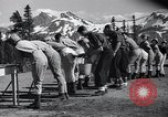 Image of ski pant Mount Rainier Washington USA, 1937, second 12 stock footage video 65675038361