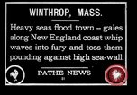 Image of Gale winds Winthrop Massachusetts USA, 1928, second 1 stock footage video 65675038375