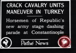 Image of cavalry units Constantinople Turkey, 1928, second 1 stock footage video 65675038376