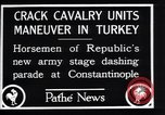 Image of cavalry units Constantinople Turkey, 1928, second 3 stock footage video 65675038376