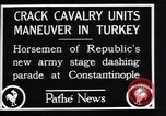 Image of cavalry units Constantinople Turkey, 1928, second 4 stock footage video 65675038376