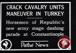 Image of cavalry units Constantinople Turkey, 1928, second 6 stock footage video 65675038376