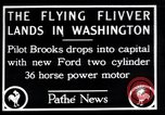 Image of Ford monoplane Washington DC USA, 1928, second 1 stock footage video 65675038377