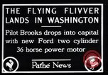 Image of Ford monoplane Washington DC USA, 1928, second 11 stock footage video 65675038377