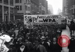 Image of protest New York United States USA, 1937, second 7 stock footage video 65675038386