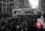 Image of protest New York United States USA, 1937, second 9 stock footage video 65675038386