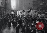 Image of protest New York United States USA, 1937, second 10 stock footage video 65675038386