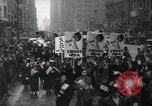 Image of protest New York United States USA, 1937, second 11 stock footage video 65675038386